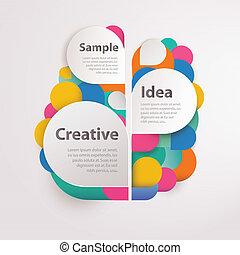 texto, abstratos, fundo, coloridos, espaço