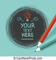 texto, abstratos, vetorial, fundo, espaço