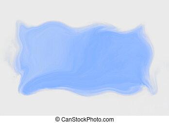 texto, azul, espaço, sob, cópia, quadro, stylized, sky.