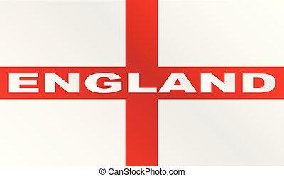 texto, bandeira, inglaterra, crucifixos, vermelho