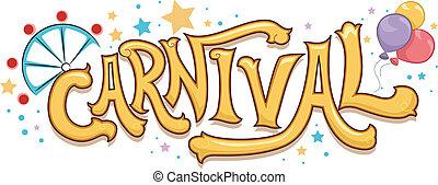 texto, carnaval