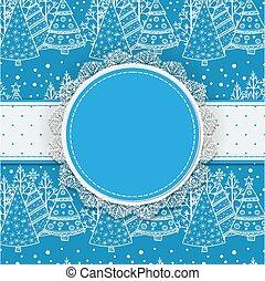 texto, cartão natal, espaço