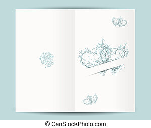 texto, diseño, boda, lugar, su, tarjeta