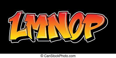 texto, diseño, grafiti, estilo, letras