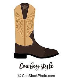 texto, estilo, shoes, vaquero