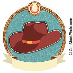 texto, etiqueta, sombrero, rúbrica, vaquero
