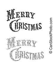 texto, felicitación, navidad, alegre
