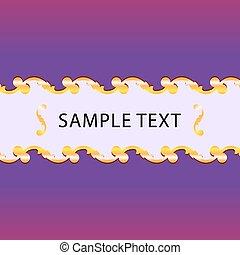 texto, fundo, espaço