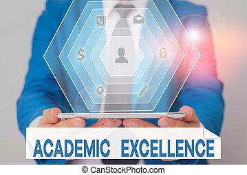 texto, grados, superior, palabra, perforanalysisce., realizando, escritura, académico, excellence., alto, concepto, empresa / negocio
