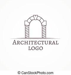 texto, ilustração, vetorial, círculo, arco, ícone