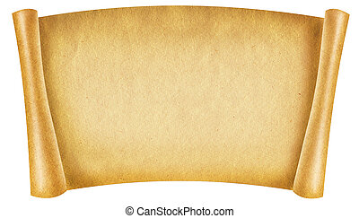 texto, papel, antigüidade velho, fundo, scroll, texture., ...