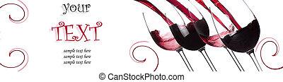 texto, salpicar, muestra, plano de fondo, vino rojo