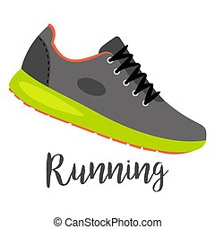 texto, sapatos correntes