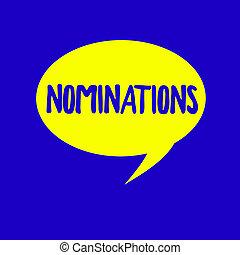 texto, señal, actuación, nominations., conceptual, foto, suggestions, de, alguien, o, algo, para, un, trabajo, posición, o, premio