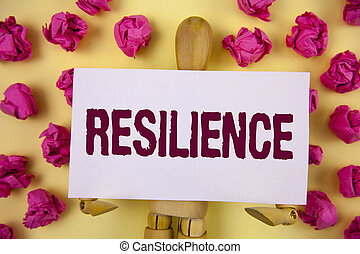 texto, señal, pegajoso, actuación, persistencia, nota, plano de fondo, resilience., foto, llanura, recobrar, pelotas papel, toy., capacidad, dificultades, de madera, conceptual, escrito, robot, rápidamente