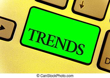 texto, sinal, mostrando, trends., conceitual, foto, geral,...