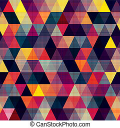 textur, triángulo, seamless, plano de fondo