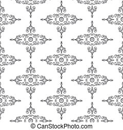 Textur_Historismus_bw - Texture patterns for furniture in...