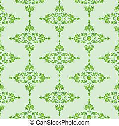 Textur_Historismus_green - green Texture patterns for...