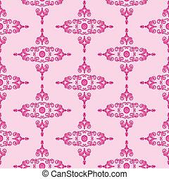 Textur_Historismus_pink - pink Texture patterns for...
