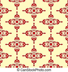Textur_Historismus_red - Texture in red and black tones, to...