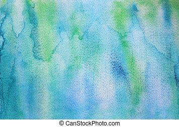 textura, abstratos, papel, fundo, aquarela