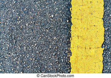 textura, camino, asfalto
