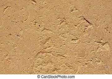 textura, de, egípcio, arenito