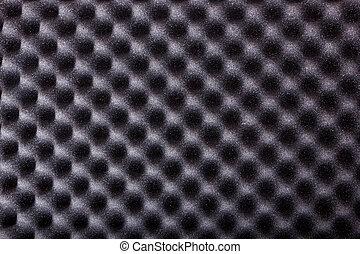 textura, de, microfiber, aislamiento, para, ruido, en, estudio de la música, o, ca