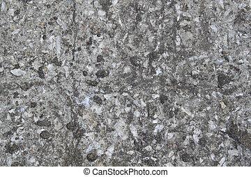 textura, de, resistido, cinzento, parede concreta