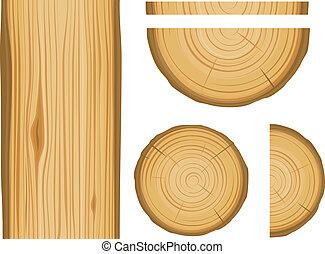 textura madeira, elementos