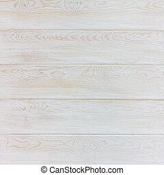 textura, madeira, prancha, pinho, branca