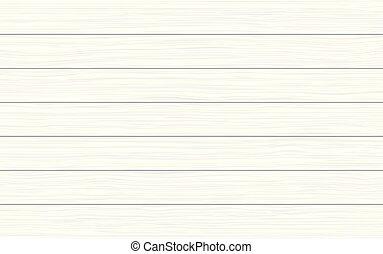 textura madeira, vetorial, fundo, branca, pranchas