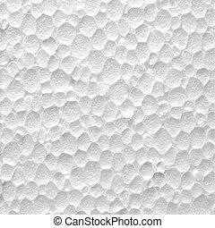 textura, plano de fondo, styrofoam