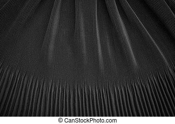 textura, pretas, tecido, fundo