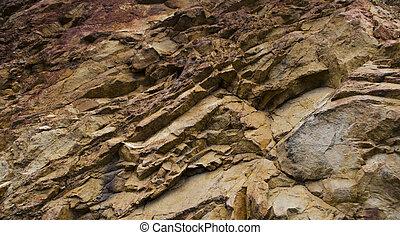 textura, roca