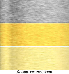 texturas, metal, plano de fondo