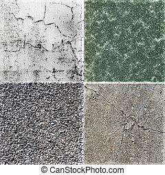 texturas, pedra, fundo, cobrança, áspero