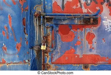 texturas, tren del carro, viejo