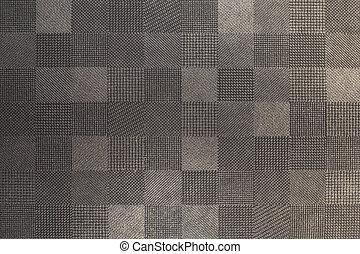 texture., abstract, textiel, grijze