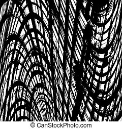 Texture Abstract Wavy Grid