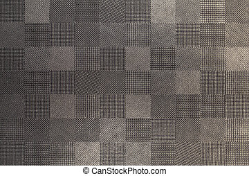 texture., abstratos, têxtil, cinzento