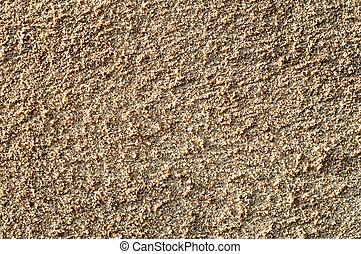 texture as sand closeup