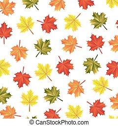 texture autumn maple leaves