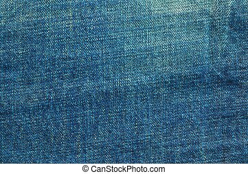 Texture Background of grunge blue jeans