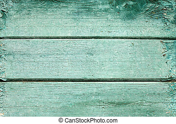 Texture background of old wooden board with peeling paint