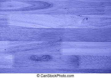 Texture blue of wood background