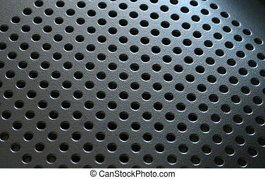 Texture - Close - up of holes texture fot background and ...