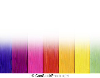 Texture colorful wooden wall background