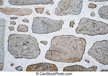texture, de, a, mur brique
